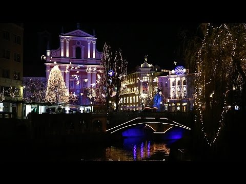 Christmas shopping in Ljubljana