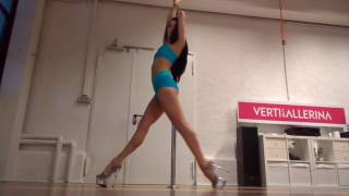 """Exotic pole dance constructor by Masha Lu """"STEPS"""" - exotic combos tutorial"""