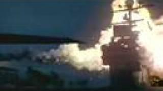 TU-22 Backfire vs Aircraft Carrier