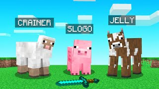 TURNING Into MOBS That We KILL In Minecraft!