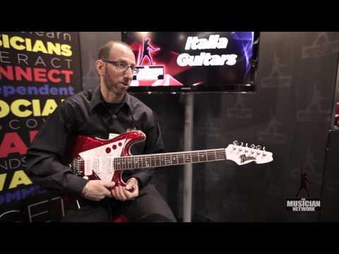 Italia Guitars: NAMM 2012 Product Showcase