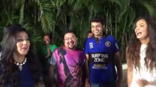 Abhimaan Movie Last Shooting In Kolkata, Jeet, Shubhasree, Sayontika 2016