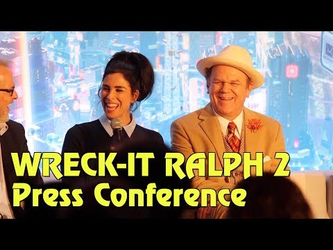 Ralph Breaks the Internet: Wreck-It Ralph 2 - Full Press Conference