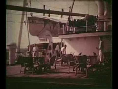Cruise from Hong Kong  to Japan in 1953