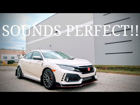 2017 Honda Civic Type R Mod   The Perfect Exhaust Sound!!