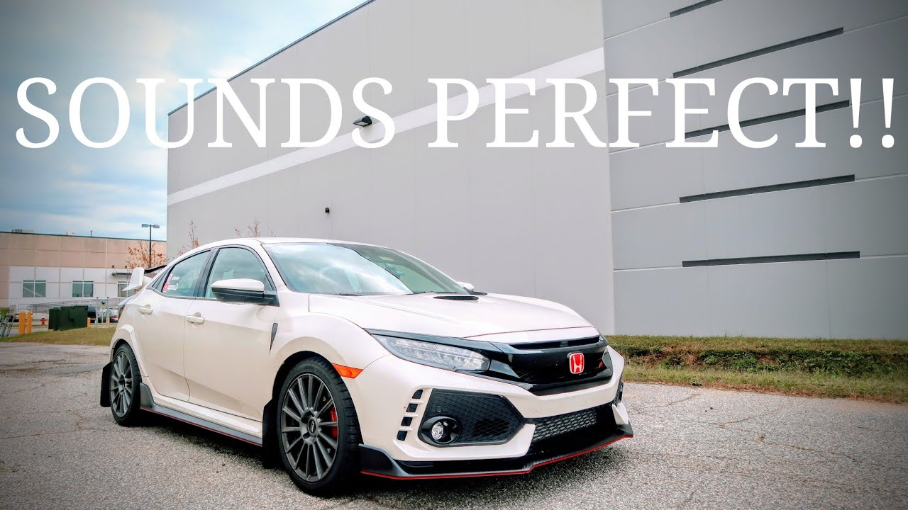 2017 Honda Civic Type R Mod | The Perfect Exhaust Sound ...
