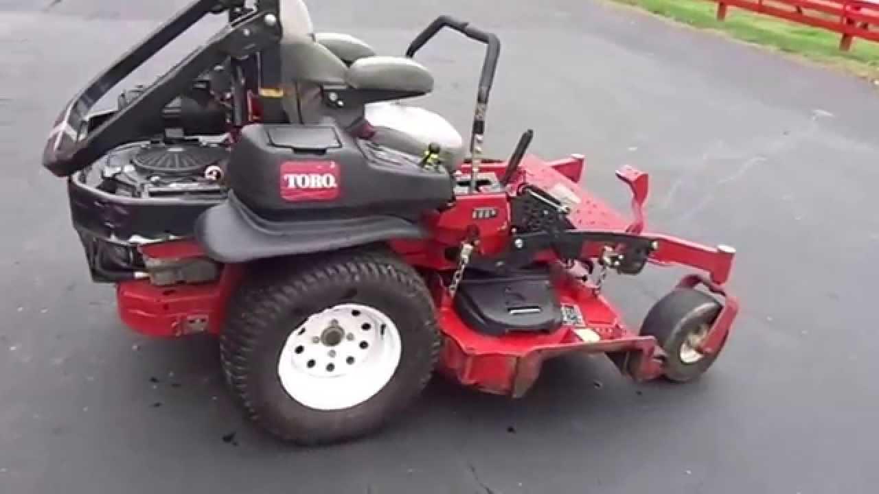 60 Quot Toro Z Master Professional 5000 Zero Turn Lawn Mower