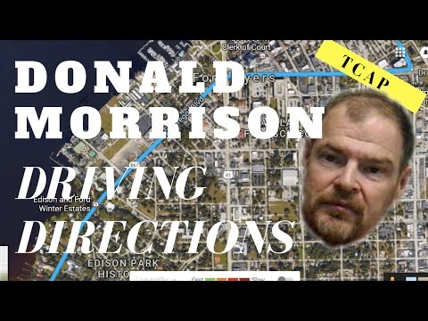 Donald Morrison Donnie1957_male To Catch A Predator Driving Directions