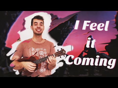 I FEEL IT COMING Weeknd Ukulele Tutorial easy tabs lyrics chords (Daft Punk)