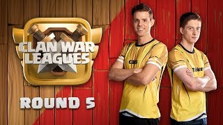 Clan War Leagues OneHive Clash of Clans Round 5