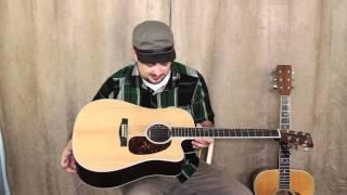 Martin Acoustic Guitars - Marty Schwartz Guitar Lessons Gear Overview: Acoustic Guitars