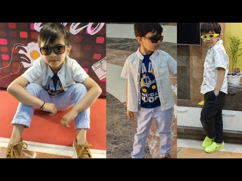 sunglasses-selection-by-5-years-old-boy!!-photoshoot-at-mall-!-kids-fashion-trends