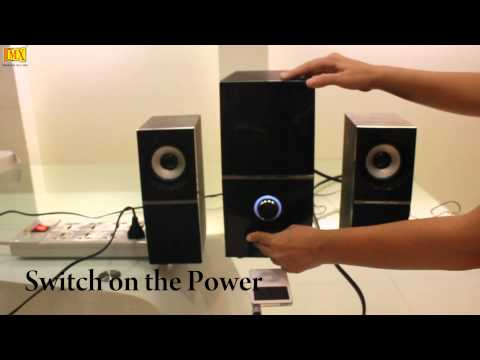 How to Connect iPod/MP3 Player to PC Speakers