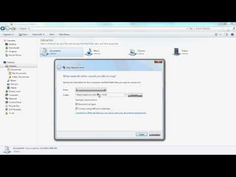 Create A WebDAV Network Drive