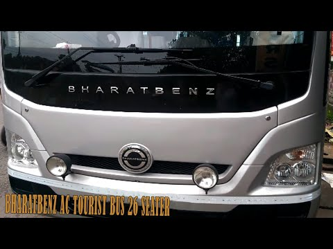 Bharatbenz 917 Ac Tourist Bus 26 Seater Price 30 Lakhs