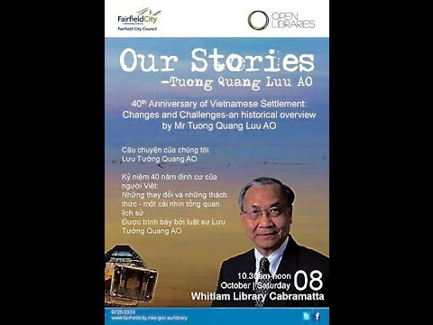 Fairfield City - Our Stories with Tuong Quang Luu AO