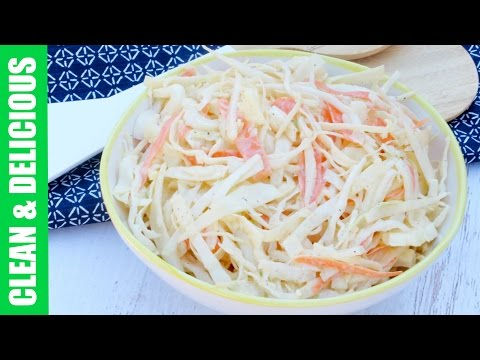 Clean Eating Cole Slaw Recipe | Clean & Delicious