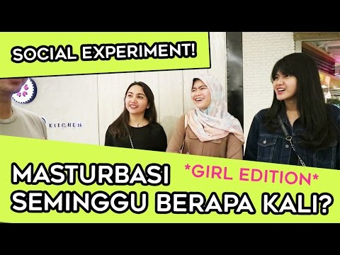 CEWE MASTURBASI SEMINGGU BERAPA KALI ? PRIVACY SOCIAL EXPERIMENT *GIRL EDITION* | TWOLOL (LEO) thumbnail