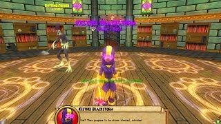 Wizard101: Lost Pages Event on my Fire - Wizard City