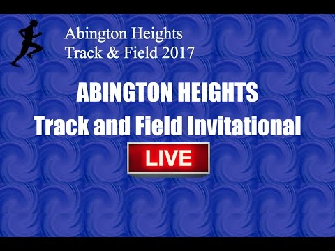 Abington Heights Jr. High Invitational 2017 LIVE
