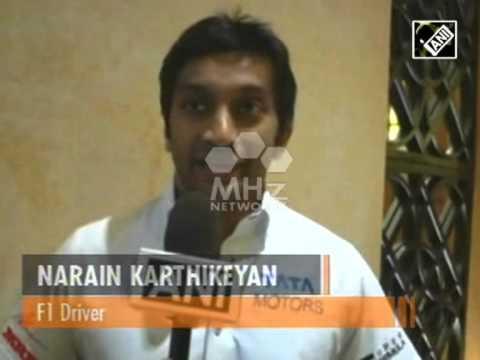 India's Narain Karthikeyan gears up for Japanese Grand Prix (Aug 31, 2015)
