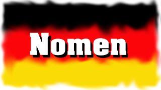 Nomen (Substantive) im Deutschen