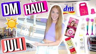 Ich nehme euch mit zu DM! 😍 150€ HAUL für den Sommer! ☀️💸 | LauraJoelle