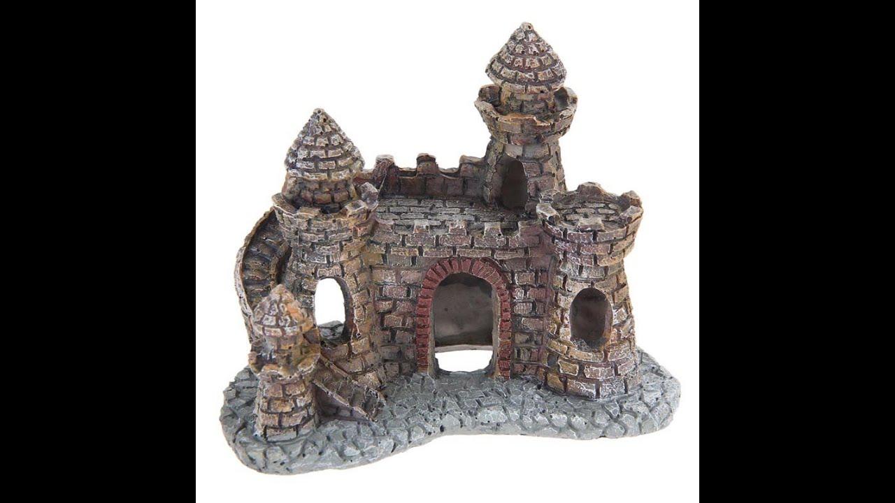 Замок для аквариума своими руками 4