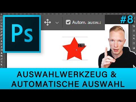 Auswahlwerkzeug Und Automatische Auswahl Für Ebenen In Photoshop 🔍
