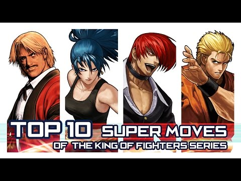 "TOP 10 - EPIC Super Moves of ""The KING of FIGHTERS"" Series!"