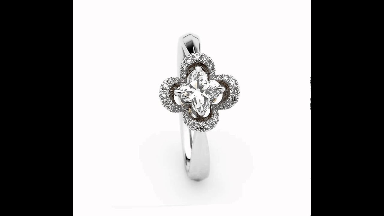 product rose gold rings diamond ring engagement centres charm lily