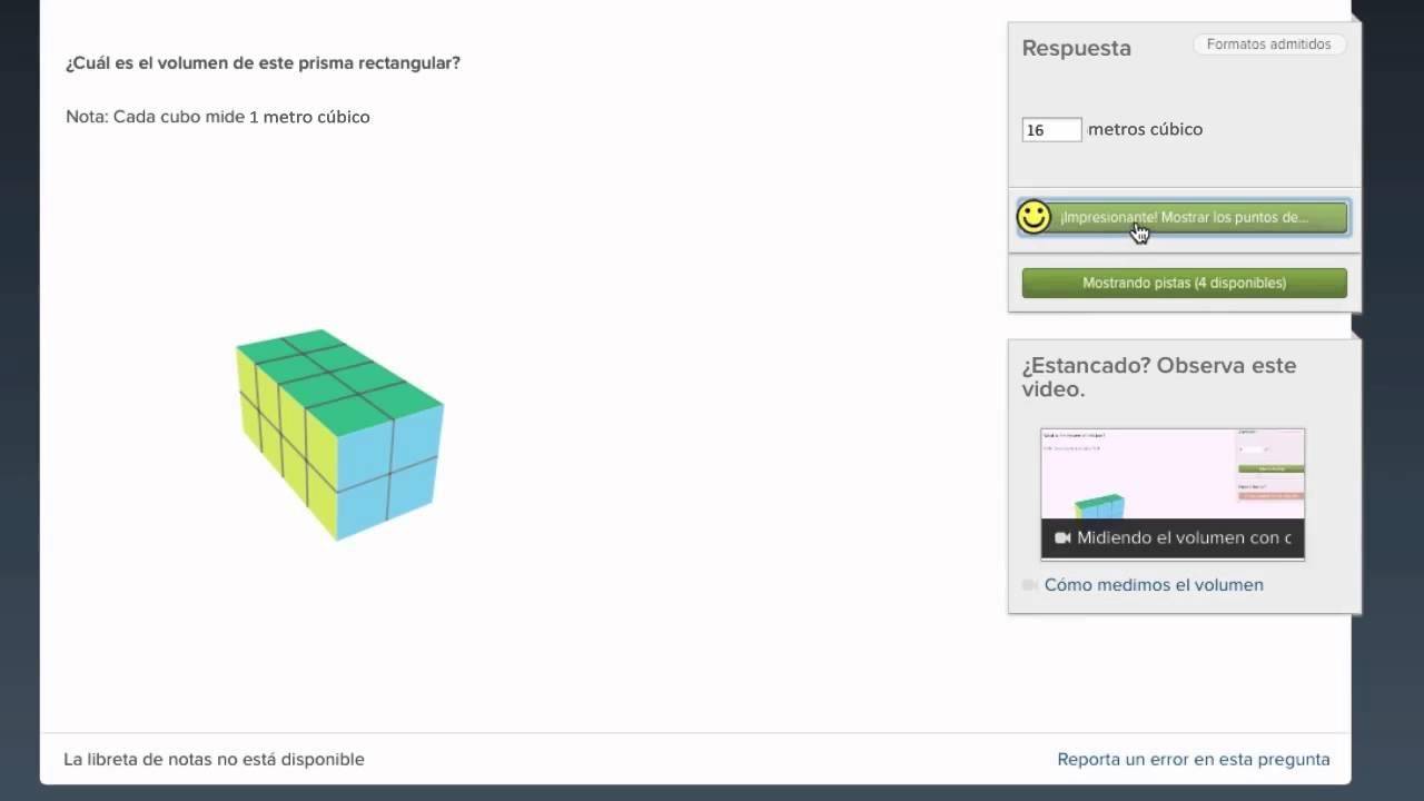 Medición de volumen con cubos unitarios (video)   Khan Academy