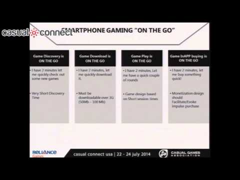 Redefining Core & Midcore Users for Mobile Games | Sandeep SHETTY