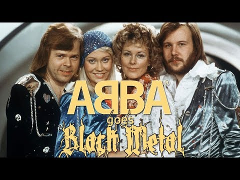 ABBA Songs in the Style of Black Metal | MetalSucks