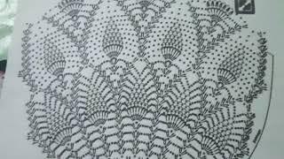 Схема вязания серой юбки узор ананасы