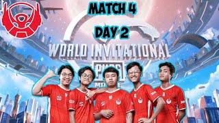PMWI East   Day 2   MATCH 4   MIRAMAR   2021 PUBG MOBILE World Invitational