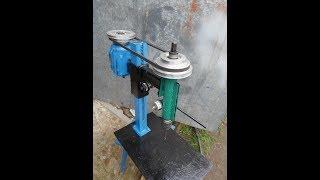 Сверлильный станок своими руками  Ч 1 Стойка и каретка DIY drilling machine