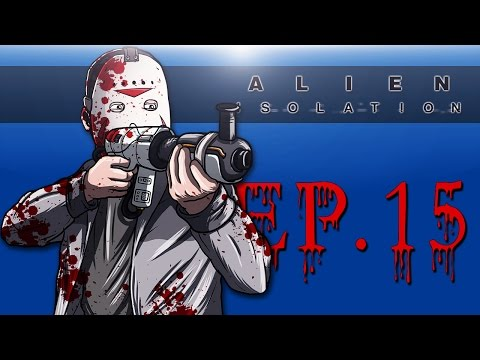 Delirious Plays Alien: Isolation Ep. 15 (Wandered Into A Scary Place!)