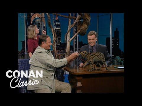 """Jim Fowler On """"Late Night With Conan O'Brien"""" 08/07/98"""