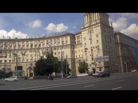 . Москва-Воробьевы горы-Ленинский проспект. Поездка в троллейбусе №7