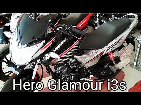 New Hero Glamour 125 i3s specifications, features, Price. 2018
