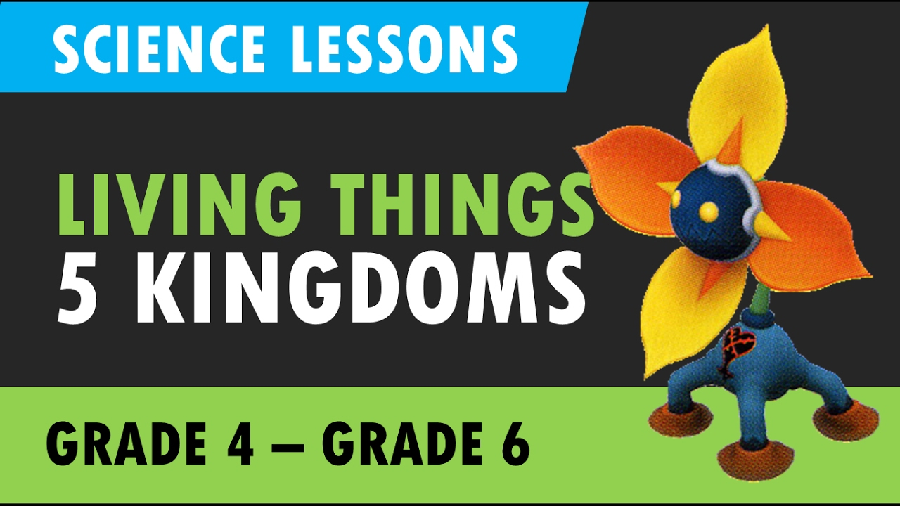 Science Tutorials 5 Kingdoms Of Living Things