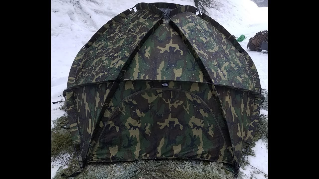 new concept 455a7 fea12 North Face Extreme Cold Weather Tent presentation