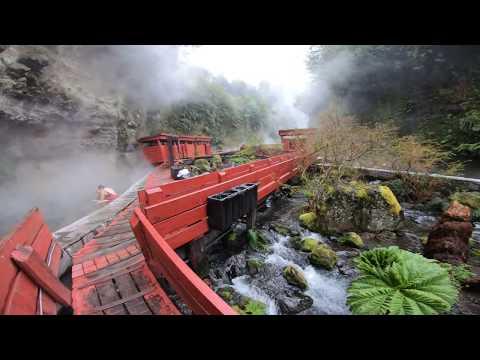 Tour a Termas Geométricas desde Villarrica, Pucón y Lican Ra