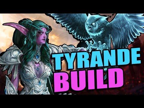 Tyrande - new build! hunter's mark! // Road to Grandmaster 2017 S1 // Heroes of the Storm