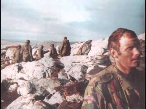 3 Para on the Falkland Islands