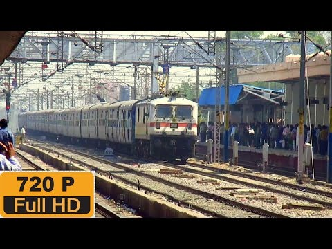 [IRI] Gwalior Station Skipped at Good Speed by Karnataka Sampark Kranti Express