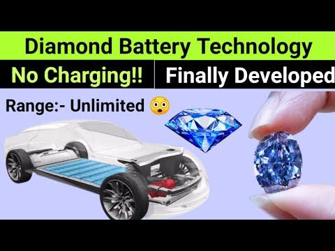 28,000 Years BATTERY Life🔥Nano DIAMOND Battery Technology Finally Developed by SCIENTIST