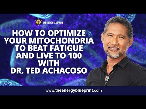 How To Optimize Your Mitochondria To Beat Fatigue and Live to 100 with Dr  Ted Achacoso