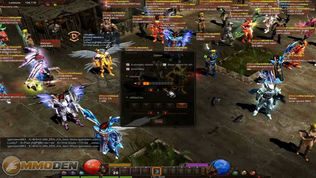 MU Online Gameplay Review Inside the Den HD Feature - YouTube